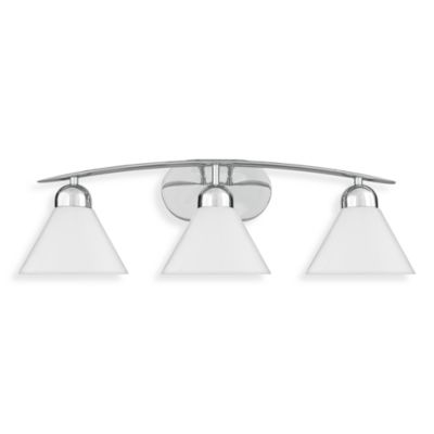 Quoizel® Demitri 3-Light Bath Fixture in Harbor Bronze