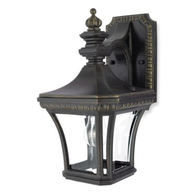 Quoizel® Devon 1-Light Outdoor Fixture in Imperial Bronze