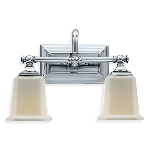 Buy Quoizel Nicholas 2 Light Polished Chrome Bath Fixture