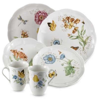 Lenox® Butterfly Meadow® 18-Piece Dinnerware Set