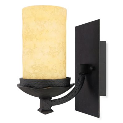Quoizel® La Parra 1-Light Semi-Flush Mount Bath Fixture in Imperial Bronze