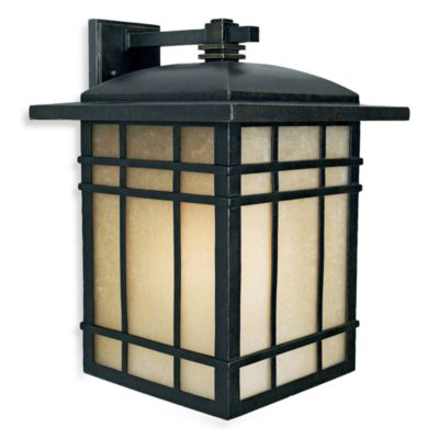Imperial Bronze Hillcrest 1-Light Outdoor Wall Fixture