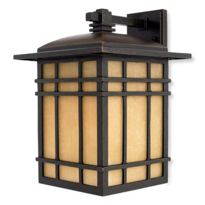 Quoizel Hillcrest Outdoor Small Wall Lantern in Imperial Bronze