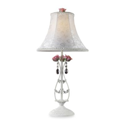 Dimond Lighting Rosavita Antique White Table Lamp
