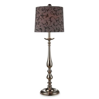 Dimond Lighting Cassandra Silver Plated Table Lamp