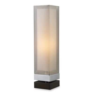 Dimond Lighting Volant Chrome and Espresso Painted Bass Table Lamp