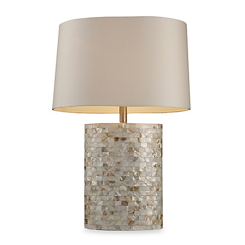 Dimond Lighting Trump Home™ Sunny Isles Mother of Pearl Table Lamp