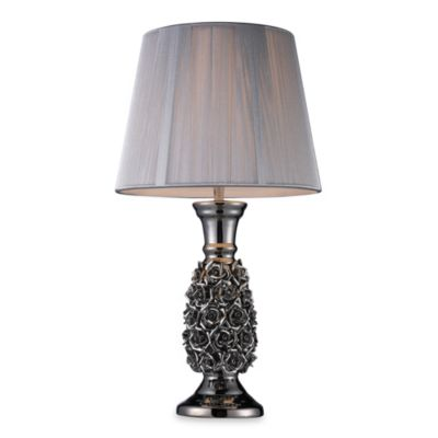 Dimond Lighting Roseto Alisa Silver Table Lamp