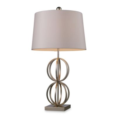 Dimond Lighting Donora Silver Leaf Table Lamp