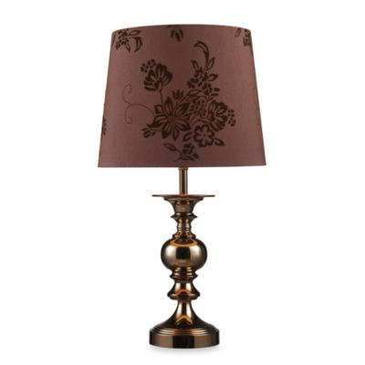 Dimond Lighting Lanesboro Coffee Plated Table Lamp