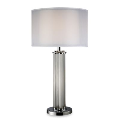Dimond Lighting White Chrome Table Lamp