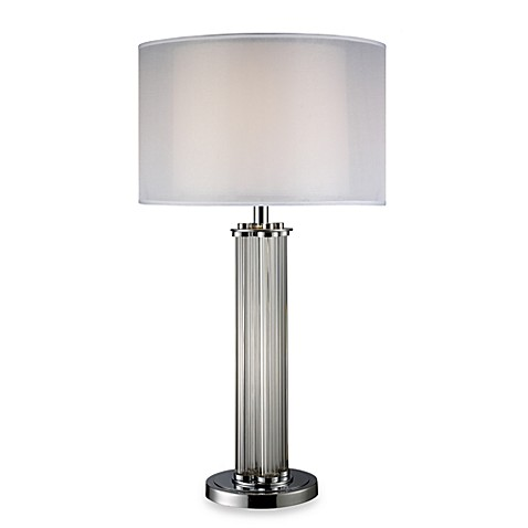 Dimond Lighting Hallstead Chrome Table Lamp