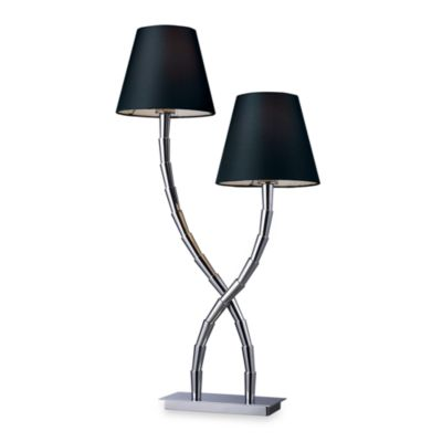 Dimond Lighting Trump Home™ Park Avenue Chrome 2-Light Table Lamp