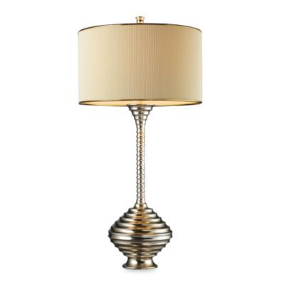 Dimond Lighting Collingdale Clement Silver Table Lamp