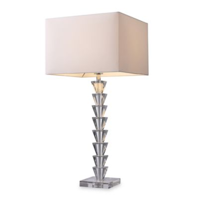 Dimond Lighting Trump Home™ Fifth Avenue Clear Crystal Table Lamp