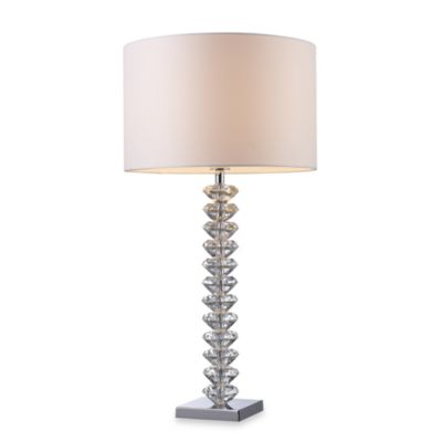 Dimond Lighting Modena Clear Crystal Table Lamp