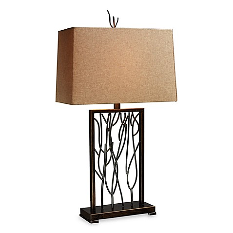 Dimond Lighting Belvior Park Aria Bronze and Iron Table Lamp