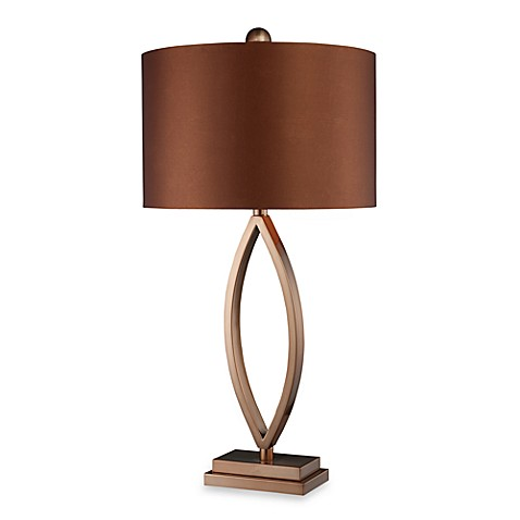 Dimond Lighting Dale Coffee Plated Table Lamp