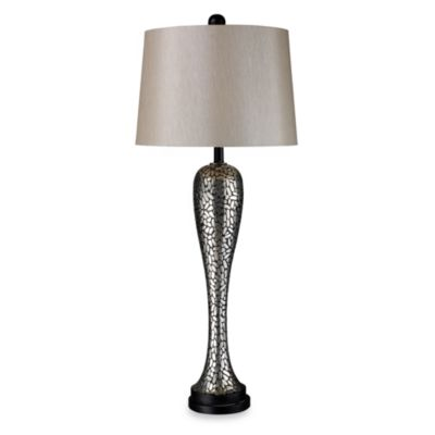 Dimond Lighting Samson Eclipse Silver Table Lamp