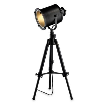 Dimond Lighting Ethan Adjustable Restoration Black Tripod Table Lamp