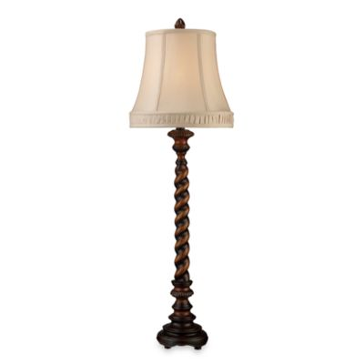 Dimond Lighting Rye Park Sienna Bronze Wood Table Lamp