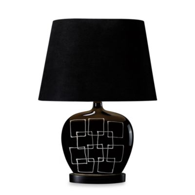Dimond Lighting Capelle Gloss Black Table Lamp