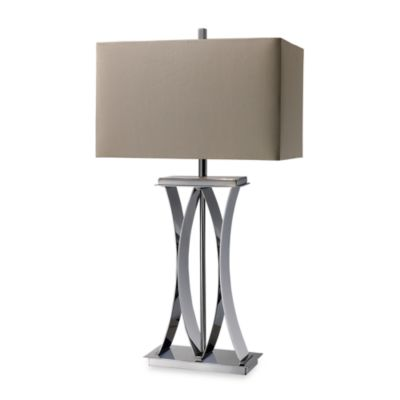 Dimond Lighting Joline Chrome Table Lamp
