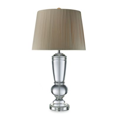 Dimond Lighting Castlebridge Clear Crystal Table Lamp