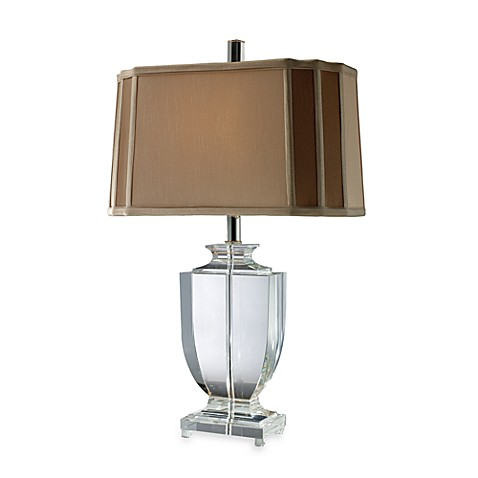 Dimond Lighting Layfette Clear Crystal Table Lamp