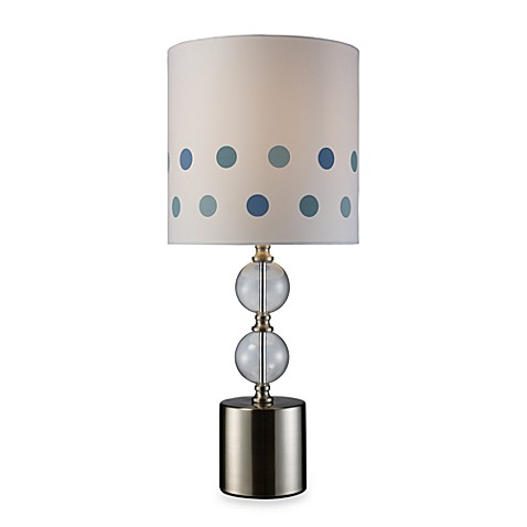 Dimond Lighting Fairfield Chrome and Clear Glass Table Lamp