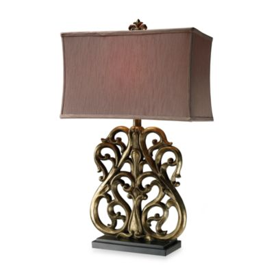 Dimond Lighting Roseville Oriole Gold Table Lamp