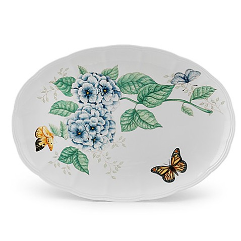 Lenox® Butterfly Meadow® 16-Inch Large Oval Platter