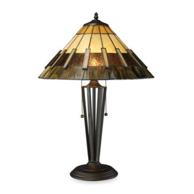 Dimond Lighting Porterdale Tiffany Bronze 2-Light Table Lamp