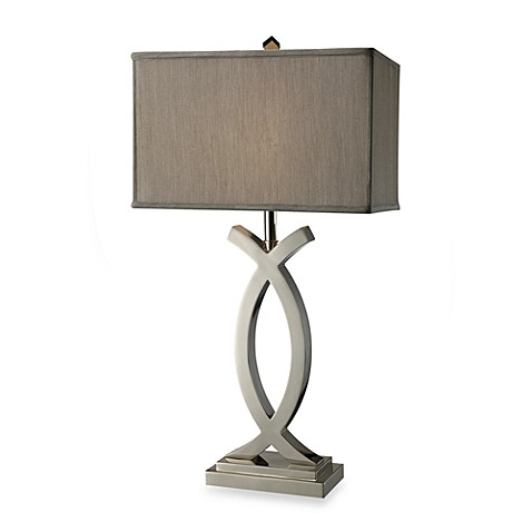 Dimond Lighting Rowley Polished Nickel Table Lamp