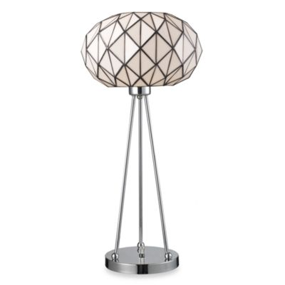 Dimond Lighting Tetra Polished Chrome Table Lamp