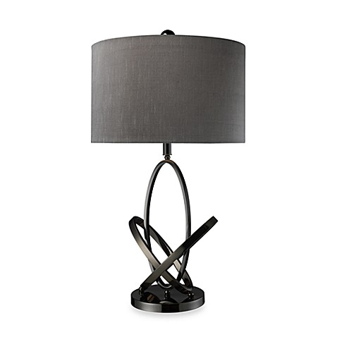 Dimond Lighting Kinetic Black Nickel Table Lamp