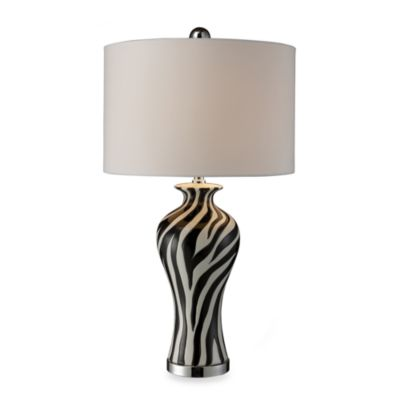 Dimond Lighting Black Chrome Table Lamp