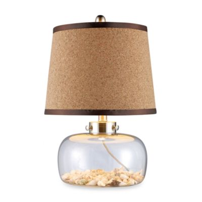 Dimond Lighting Margate Clear Glass and Shells Table Lamp
