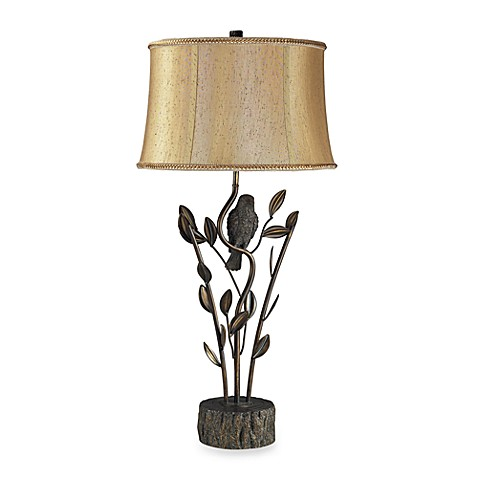Dimond Lighting Biltmore® Aria Bronze Bird in Tree Table Lamp
