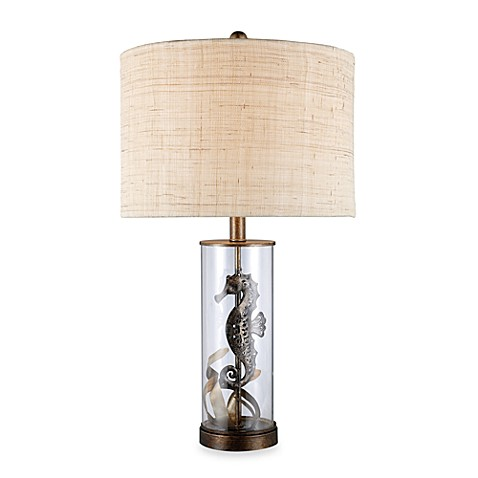 Dimond Lighting Largo Bronze and Clear Glass Table Lamp
