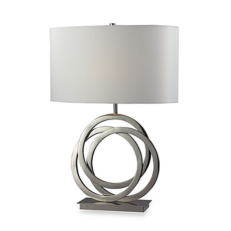 Dimond Lighting Trinity Polished Nickel Table Lamp