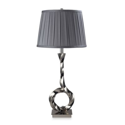 Dimond Lighting Blackstone Avenue Polished Nickel Table Lamp