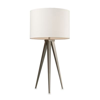 Dimond Lighting Salford Satin Nickel Table Lamp