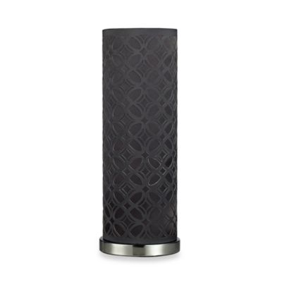 Dimond Lighting Chamberla in Grey and Black Nickel Table Lamp