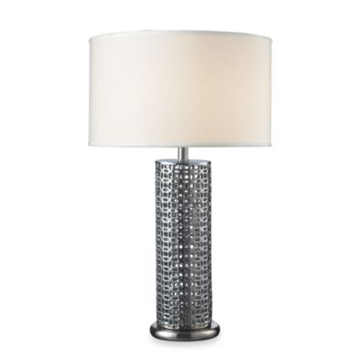Dimond Lighting Chancelor Chrome Plated Finish Table Lamp