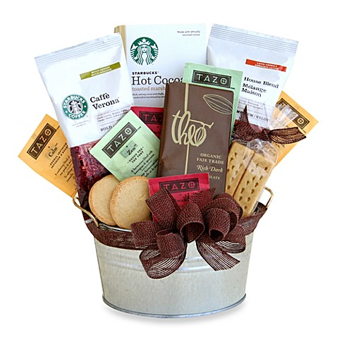 Starbucks® Cocoa and Coffee Gift Basket