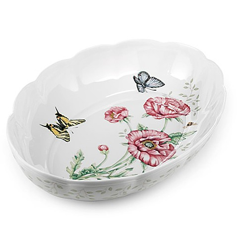 Lenox® Butterfly Meadow® Oval Baker