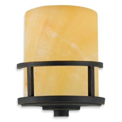 Quoizel Bronze Light Fixture