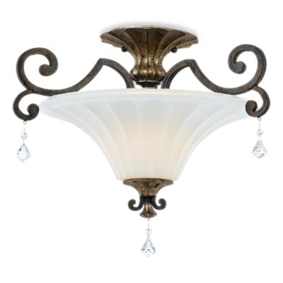 Marquette Ceiling Light in Heirloom Bronze