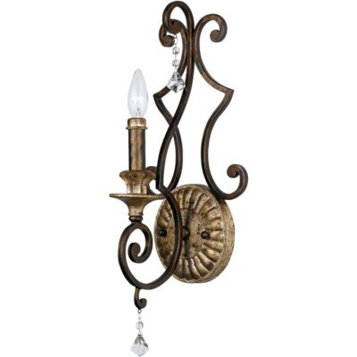 Marquette Heirloom Finish 1-Light Wall Sconce